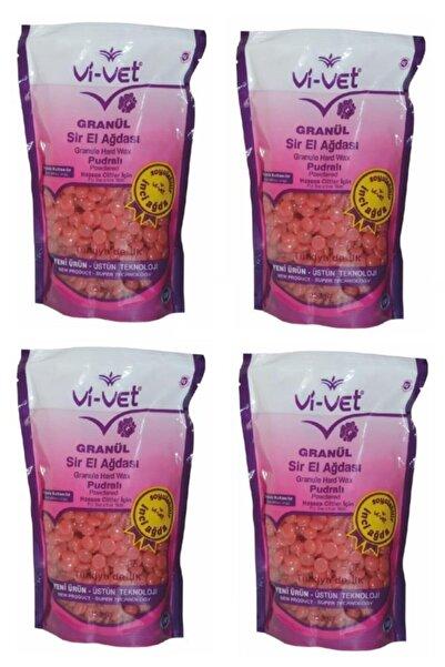Vi-vet Soyulabilir Pudralı Granül Boncuk Ağda 4 Adet 8697422251713