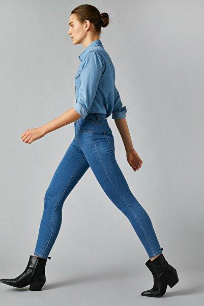 Koton Kadın Mıd Indıgo Jeans 1KAK47255MD