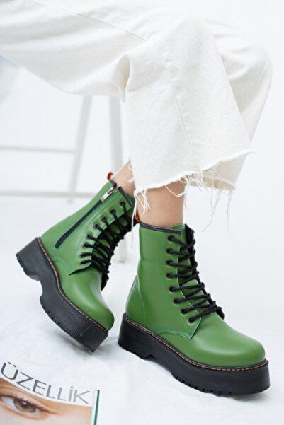 ottimo Kadın Yeşil Bot