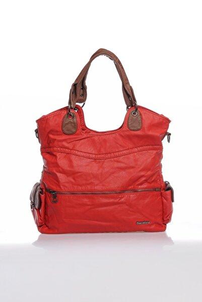 Barcelona Brc1582-0019 Kırmızı Kadın Omuz Çantası