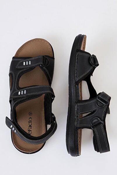 DeFacto Erkek Siyah Trekking Sandalet S6216AZ20HS