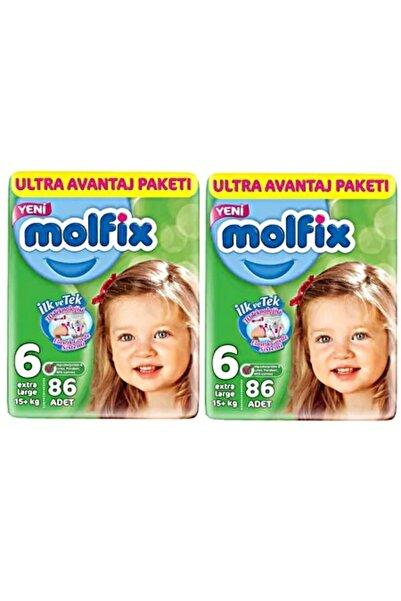 Molfix Bebek Bezi Ultra Avantaj Paketi 6 Numara Xl 2x86 Adet