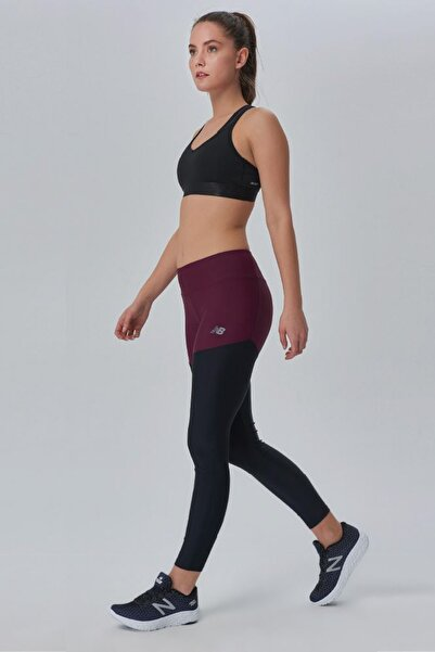 New Balance Kadın Tayt - WTP3907 - WTP3907-BKR