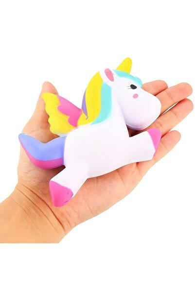 Playseba Jumbo Unicorn Boynuzlu At Squishy 13 Cm - Sık Bırak Sukuşi