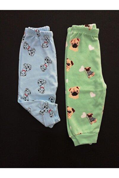 BABYİBO 2 Adet %100 Pamuk Bebek Tek Alt Seti,bebek Alt Giyim , Bebek Giyim, Bebek Pijama,bebek Badi