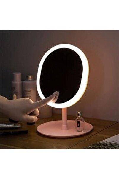 Makyaj Aynası Led Işıklı Makyaj Dokunmatik Usb Kablolu Lambası Dokunmatik