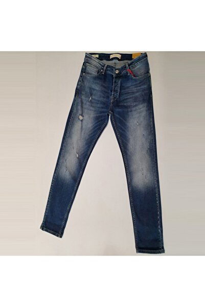 Five Pocket Erkek Lacivert Jean Pantolon