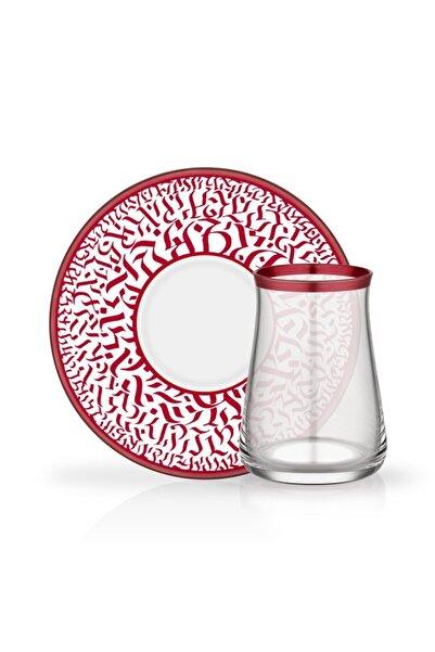 Glore Tarabya 12 Parça Elena Çay Bardağı Seti