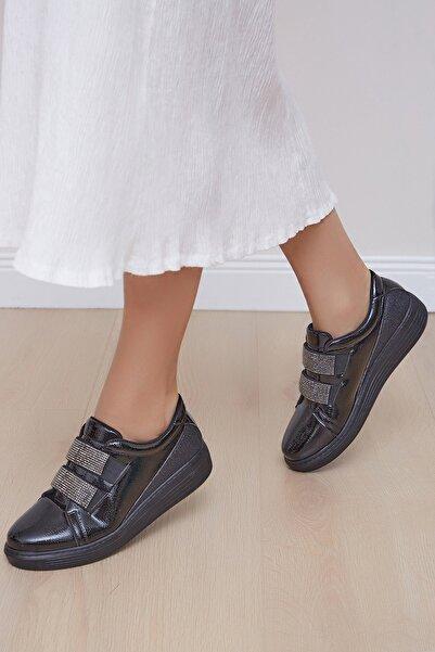 Shoes Time Kadın Siyah Günlük Ayakkabı 19k 103
