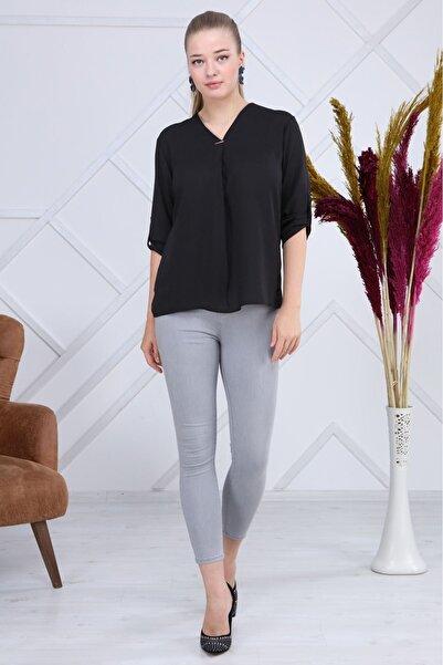 Modayız Siyah Bluz G6-1191