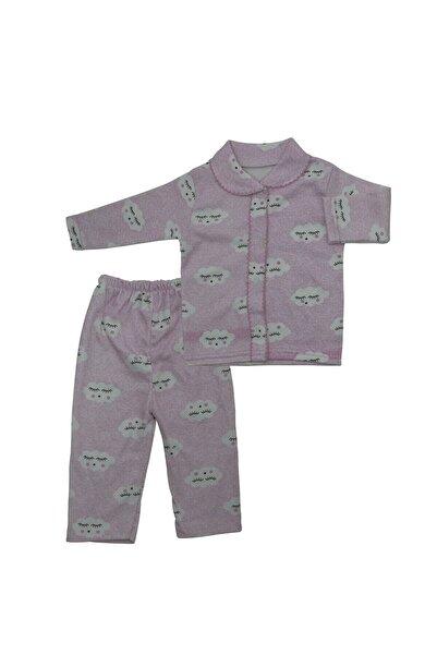 GONCA Pembe Bulutlu 2 Li Bebek Pijama K3298