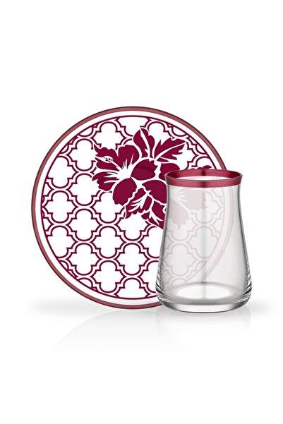 Glore Tarabya 12 Parça Çay Bardağı Seti Almiran