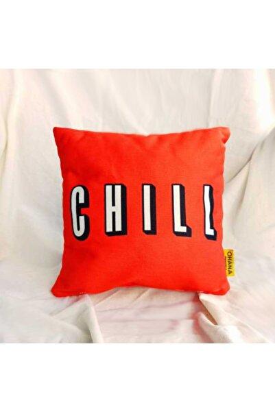 Accessories Chill Kırmızı Yastık