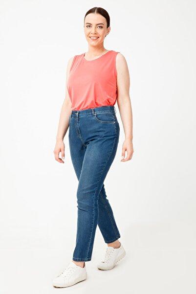Ekol Kadın Mavi Kot Pantolon