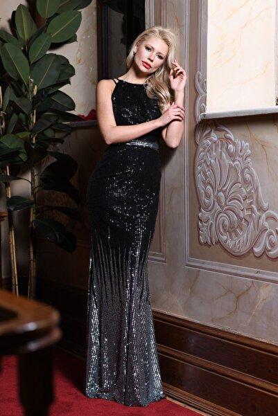 Elbisemhazır Payet Bayan Abiye