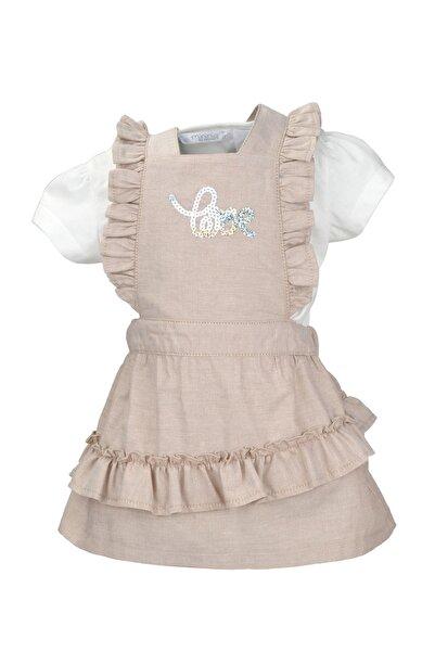 Zeyland Kız Çocuk Bej Elbise