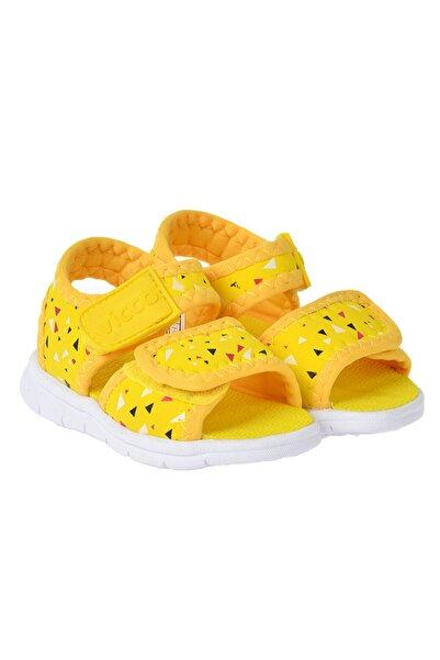 Vicco Unisex Çocuk Sarı Spor Günlük Sandalet