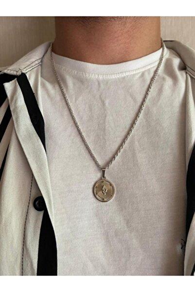 ms merijewelry Yılan Madalyon Kolye