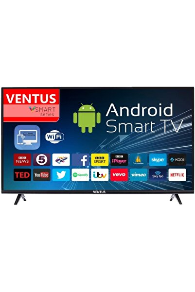 "40"" (101 Ekran) Android Smart Fullhd Dahili Uydu Alıcılı Led Tv"