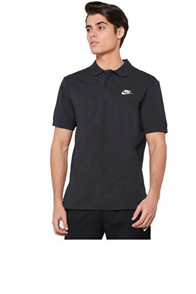 Nike Erkek Siyah Polo Yaka Tişört Cj4456-010