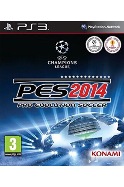 Electronic Arts Pes 2014 Türkçe Ps3