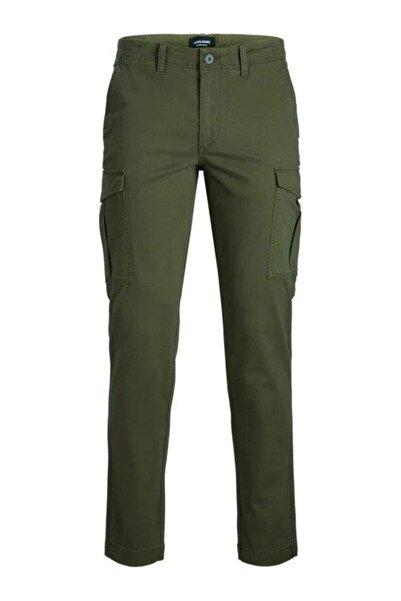 Jack & Jones Erkek Haki 6 Cep Kargo Cepli Pantolon 12174184