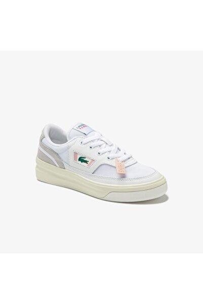 G80 0120 1 Sfa Kadın Deri Beyaz - Açık Pembe Sneaker
