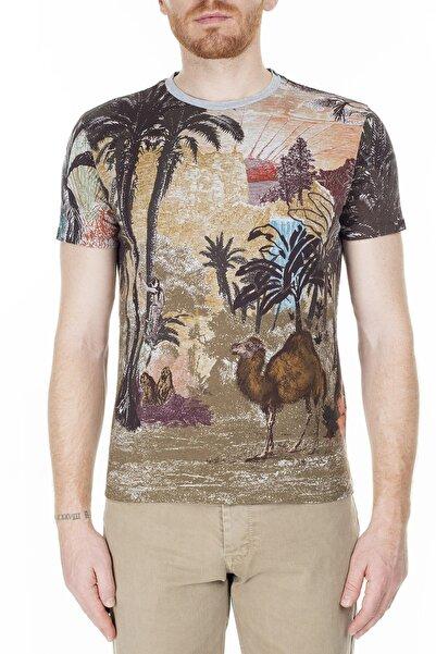 ETRO Erkek Mavi T Shirt