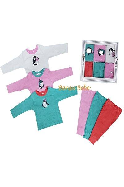 Abentiny Zürafalı 6'lı Kız Bebek Set