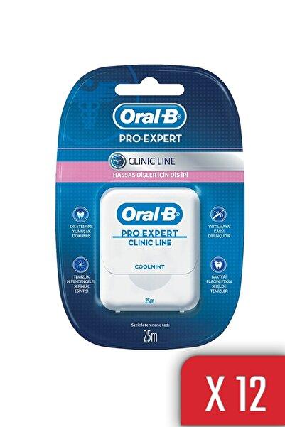 Oral-B Oral B Diş Ipi Pro Expert Clinic Line 25mt 12 Li