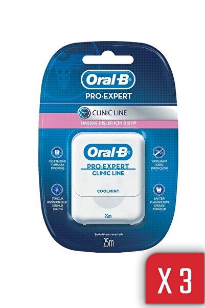 Oral-B Oral B Diş Ipi Pro Expert Clinic Line 25mt 3 Lü