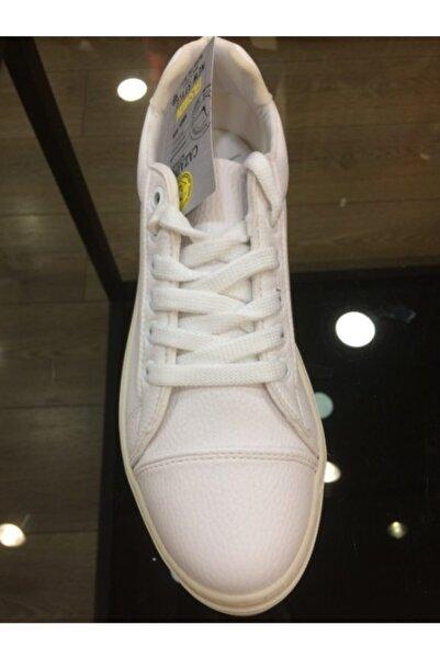Cazador Kadın Günlük Beyaz Renk Ayakkabı Cdr 9821