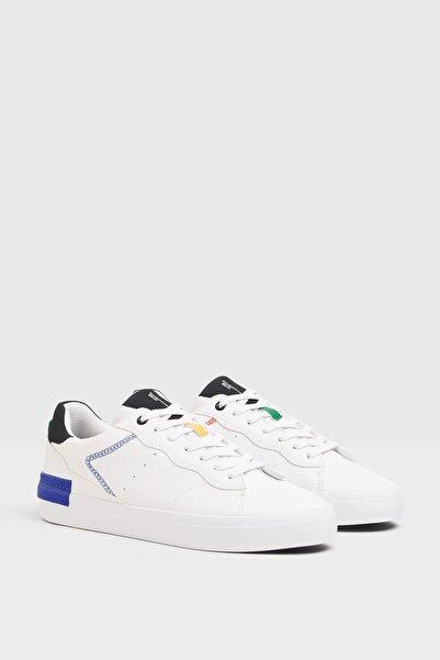 Bershka Farklı Renkli Parçalı Spor Ayakkabı