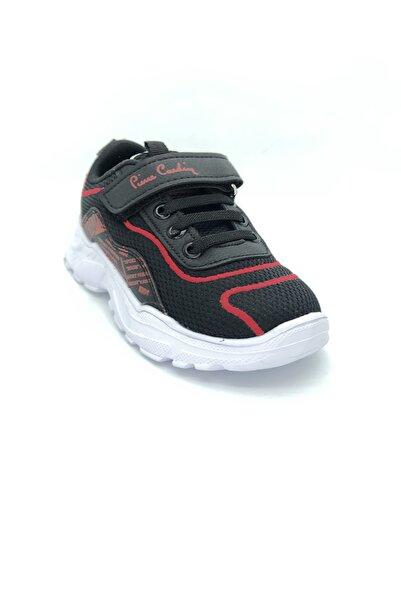 Pierre Cardin Unisex Bebek Siyah Patik Spor Ayakkabı