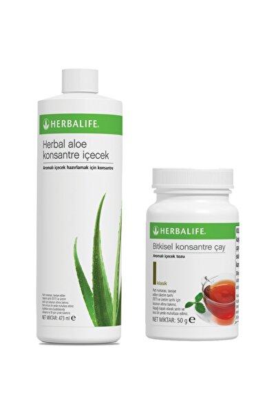 Herbalife İçecek Paketi 50 gr Klasik Çay Aloe Vera İçecek