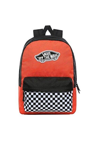 Vans Unisex Renkli Realm Backpack Sırt Çantası Vn0a3uı6zkf1