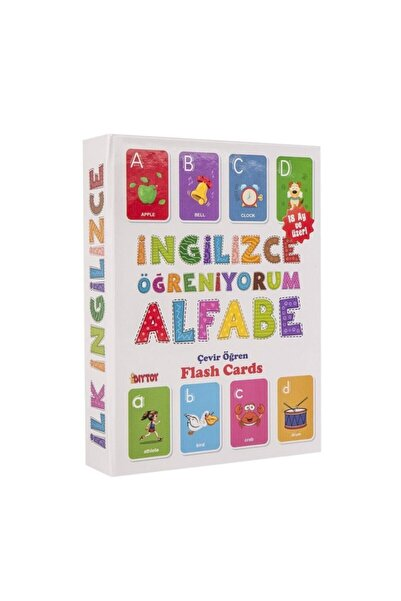 DIYTOY İngilizce Öğreniyorum Alfabe Flash Cards