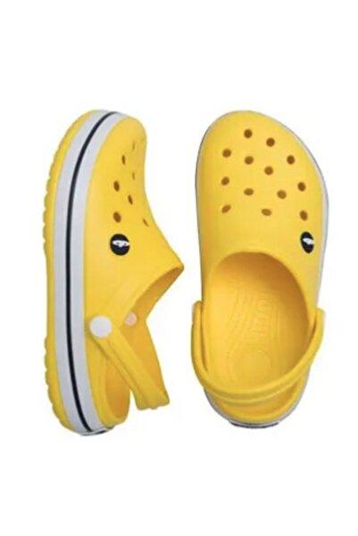 Akınal Bella E195.z.000  Sarı Crocs Kadın Terlik 39
