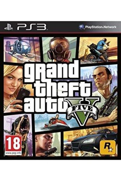 Ps3 Grand Theft Auto 5 - Gta 5 - Orjinal Oyun - Sıfır Jelatin