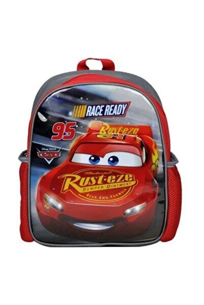Disney Pixar Cars Kırmızı Cars Anaokulu Çantası 96678