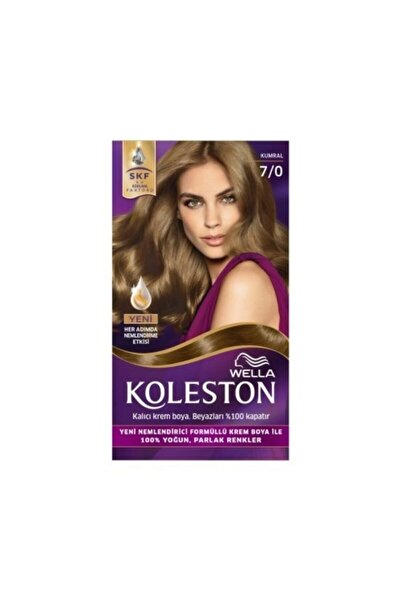 Koleston Wella Set 7-0 Kumral Saç Boyası X 2 Paket