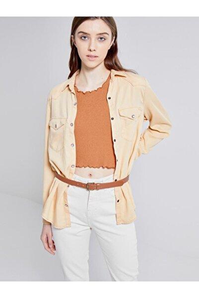 Ltb Kadın Jeans Gömlek 01009609191487353057
