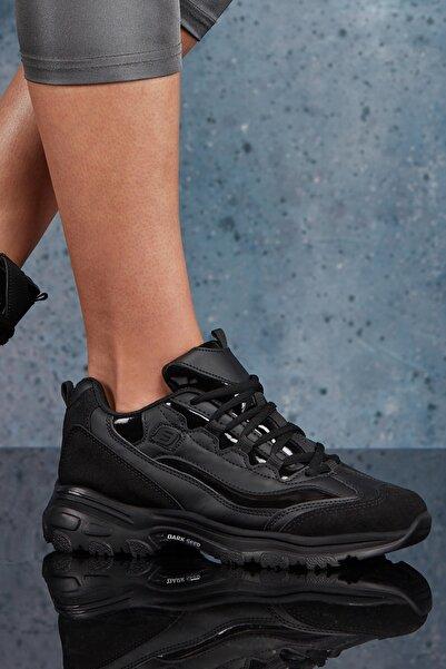 DARK SEER Siyah Kadın Sneaker DS.MJ1901
