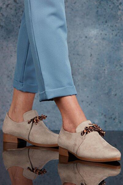 DARK SEER Bej Kadın Günlük Ayakkabı DS.KCL207