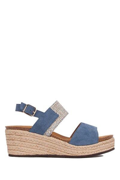 Scholl 27967 Elena Kadın Mavi Sandalet 36-40