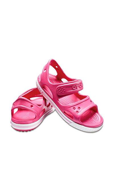 Crocs Kids Unisex Çocuk Pembe Suni Deri  Sandalet 14854