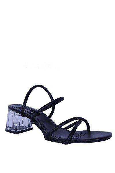 Derigo Kadın Siyah Topuklu Ayakkabı 39204