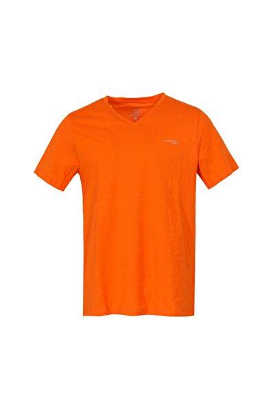 lumberjack Erkek Turuncu Tamsin Basic Tshirt