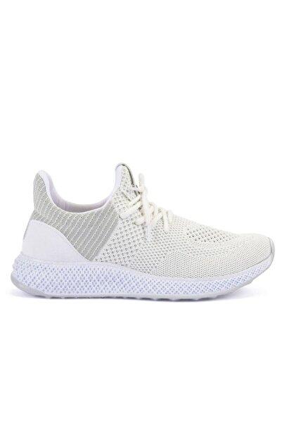 Slazenger Unisex Beyaz Agent Koşu Yürüyüş Ayakkabı - Sa10re132-000