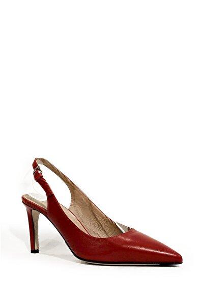 Nursace Hakiki Deri Klasik Topuklu Ayakkabı Nsc19y-a57114 Napa